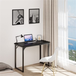 YITAHOME MDF Office Computer Desk Home Office Workstation with Steel Frame