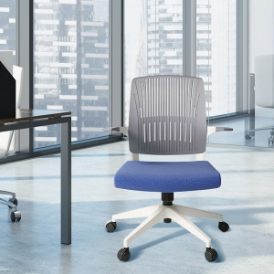 Stylish Swivel Office Chair with 5 Wheels Height Adjustable Desk Chair