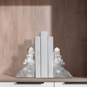 Modern Astronaut Bookends Decoration Bookends Home Decors for Kids Room