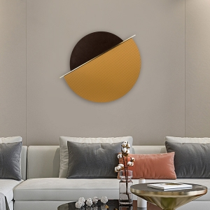 Wall Decor Chocolate Biscuit Wall Art MDF Board Home Decor Wall Hanging Artwork with Aluminum Frame