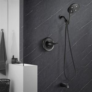 YITAHOME Shower System with Tub Spout high Pressure 6-Setting Shower Combo Set