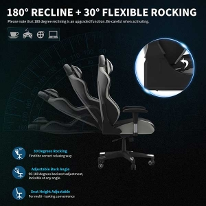 Ergonomic Video Game Chair Heavy Duty High Back Office Computer Gaming Chair